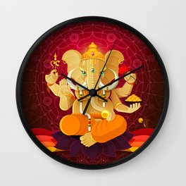 Ganesha | Animal Gods Wall Clock
