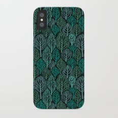 Into the Woods iPhone X Slim Case