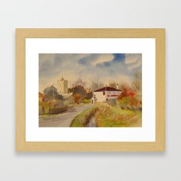 Burmarsh in Kent Framed Art Print