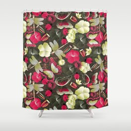 butterflies... dragonflies... and ladybugs! Shower Curtain