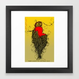 Chinese Zodiac Rat Framed Art Print