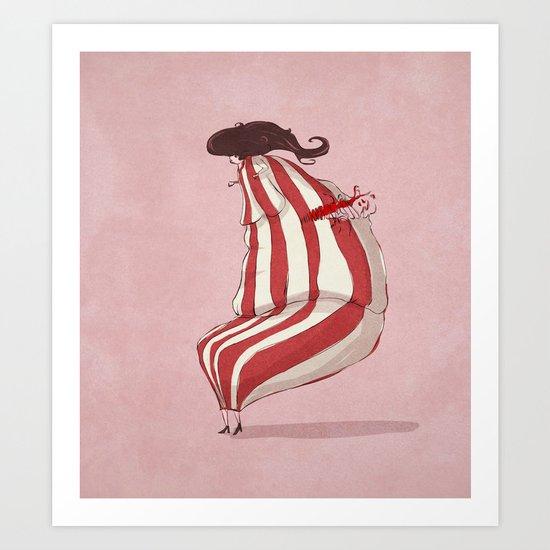 fat(fi)ness #2 Art Print