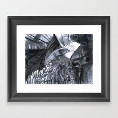 The City & The City Framed Art Print