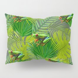 Frog Forest Pillow Sham