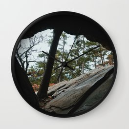 Robbers Cave Wall Clock