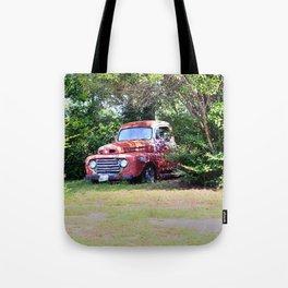 1950 Ford F100 Tote Bag
