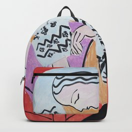 Henri Matisse - The Dream - 1940 Artwork Backpack