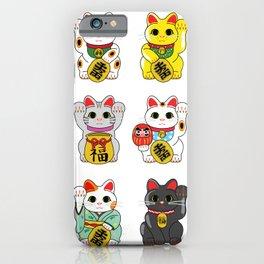 Lucky Cat / Maneki Neko iPhone Case