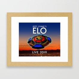 Jeff Lynne's ELO tour 2019 sule1 Framed Art Print