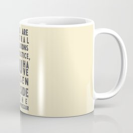 If you are neutral in situations of injustice, Desmond Tutu quote, civil rights, peace, freedom Coffee Mug