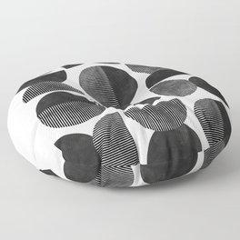 Mid Century, Retro Geometric Art Floor Pillow