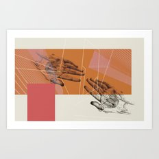 HUMAN RACE / HANDS Art Print