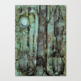 ONE MOON ONE TREE Canvas Print
