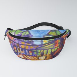Shopping on Robson, Vancouver Fanny Pack