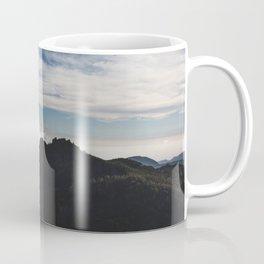 Clouds over the mountains Coffee Mug