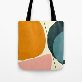 shapes geometric minimal painting abstract Tote Bag