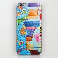 maryland iPhone & iPod Skins featuring Baltimore, Maryland by Karen Riddle