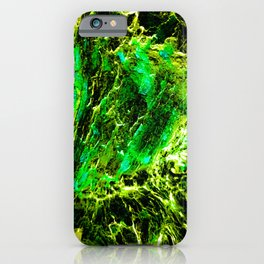 Green Slime iPhone Case