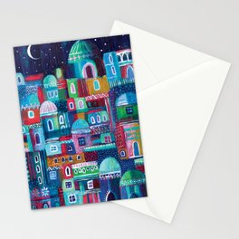 Mosaic City Stationery Cards