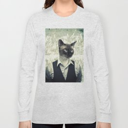 Fancy Cat Long Sleeve T-shirt