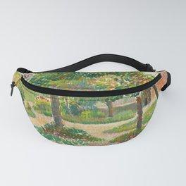 "Camille Pissarro ""Jardin à Éragny"" Fanny Pack"