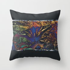 Butterfly Trance Throw Pillow