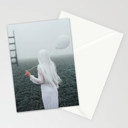 All white Stationery Cards