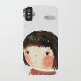 Rain on me iPhone Case