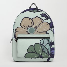 Colorful floral Backpack