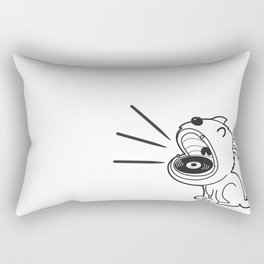 Music Monster Rectangular Pillow