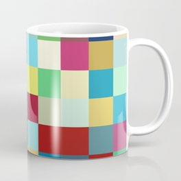 Kanaloa - Colorful Abstract Pixel Pattern Art Coffee Mug