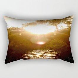 Sunset Reflection Rectangular Pillow