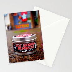 As slick as grease Stationery Cards