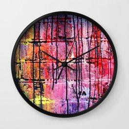 Original Street Art Graffiti Modern Art Photography Wall Clock