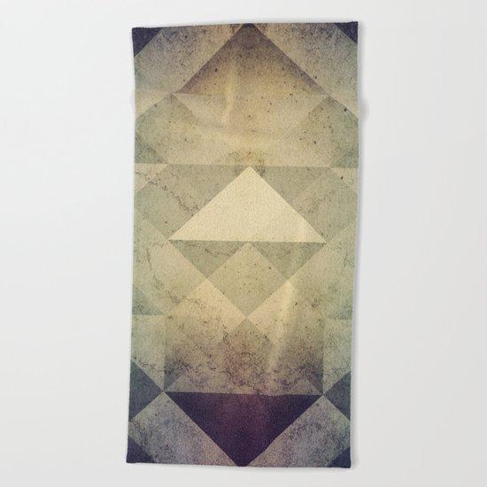 Triangles XXVII Beach Towel