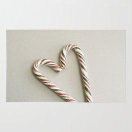 Candy cane love Rug