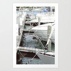 Marina Hues Art Print