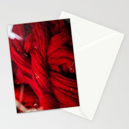 Red Dyeing Stationery Cards