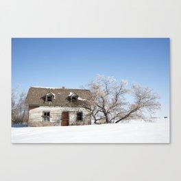 House on 831 #1 Canvas Print