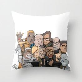 Vector collage SG1 Throw Pillow