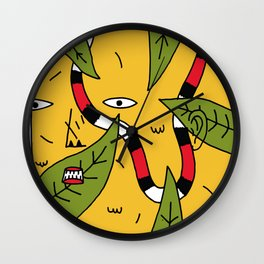 Le Camouflage Wall Clock