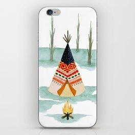 Wigwam iPhone Skin