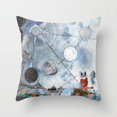 Exploration: Setting Sail Throw Pillow