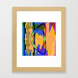 Harlekin Dance Framed Art Print