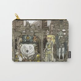 Steampunk City Carry-All Pouch