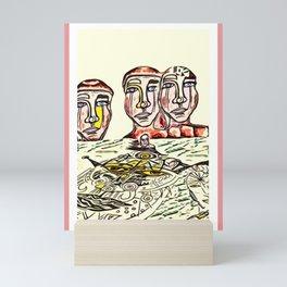 scared Trust Mini Art Print
