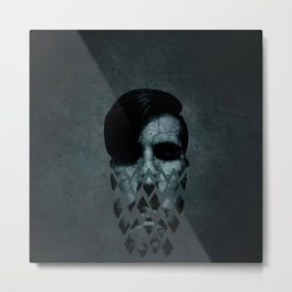 Disintegration Metal Print