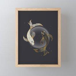 Fade Away - Illustration Framed Mini Art Print