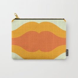 Orange wave art work Carry-All Pouch