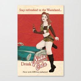 Nuka Cola Ad Canvas Print